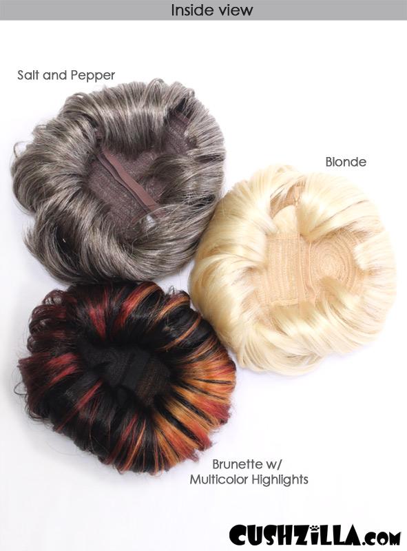 Cat Wig   Dog Wig   Cushzilla SHAAARON! Brunette Bowl Cut Wig 8c65543aa